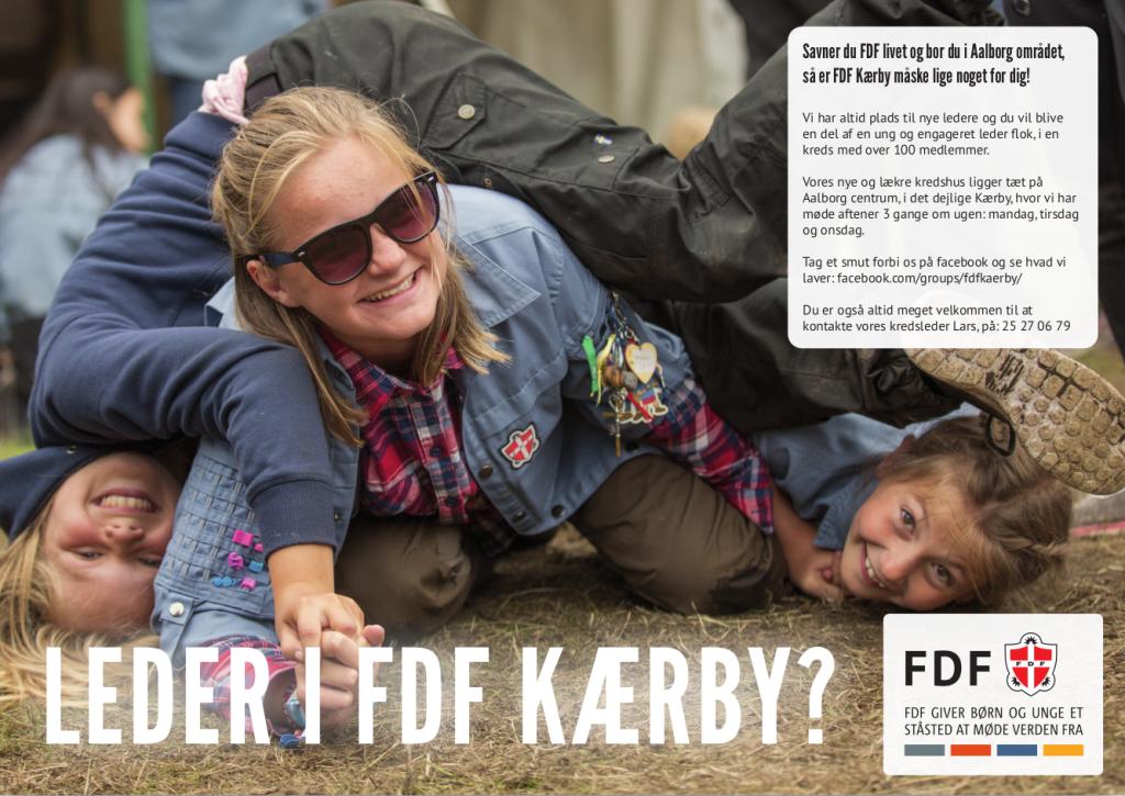 Bliv leder i FDF Kærby